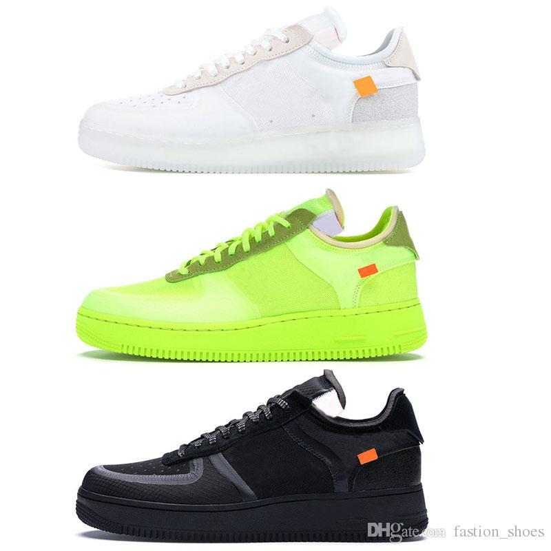 meilleures baskets c2713 45e58 NIKE Air Force 1 AF1 Dunk Utility 1 chaussures de designer de luxe de haute  qualité Hommes Baskets Femmes Baskets Vert Blanc Noir 3 Couleurs ...