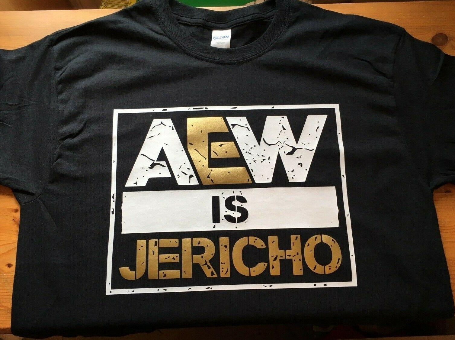 bbe98dd1 AEW IS JERICHO T Shirt XS 5XL Kenny Omega Young Bucks ALL ELITE WRESTLING  Chris Funny Unisex Tshirt Best Tee Shirts T Shirts Cheap From  Workwearstores, ...