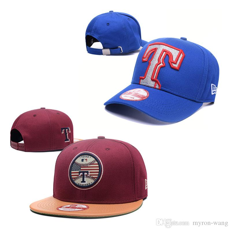 9267406b1b Wholesale baseball hats Texas caps red blue snapbacks hat adult embroidered  cap mix order free shipping