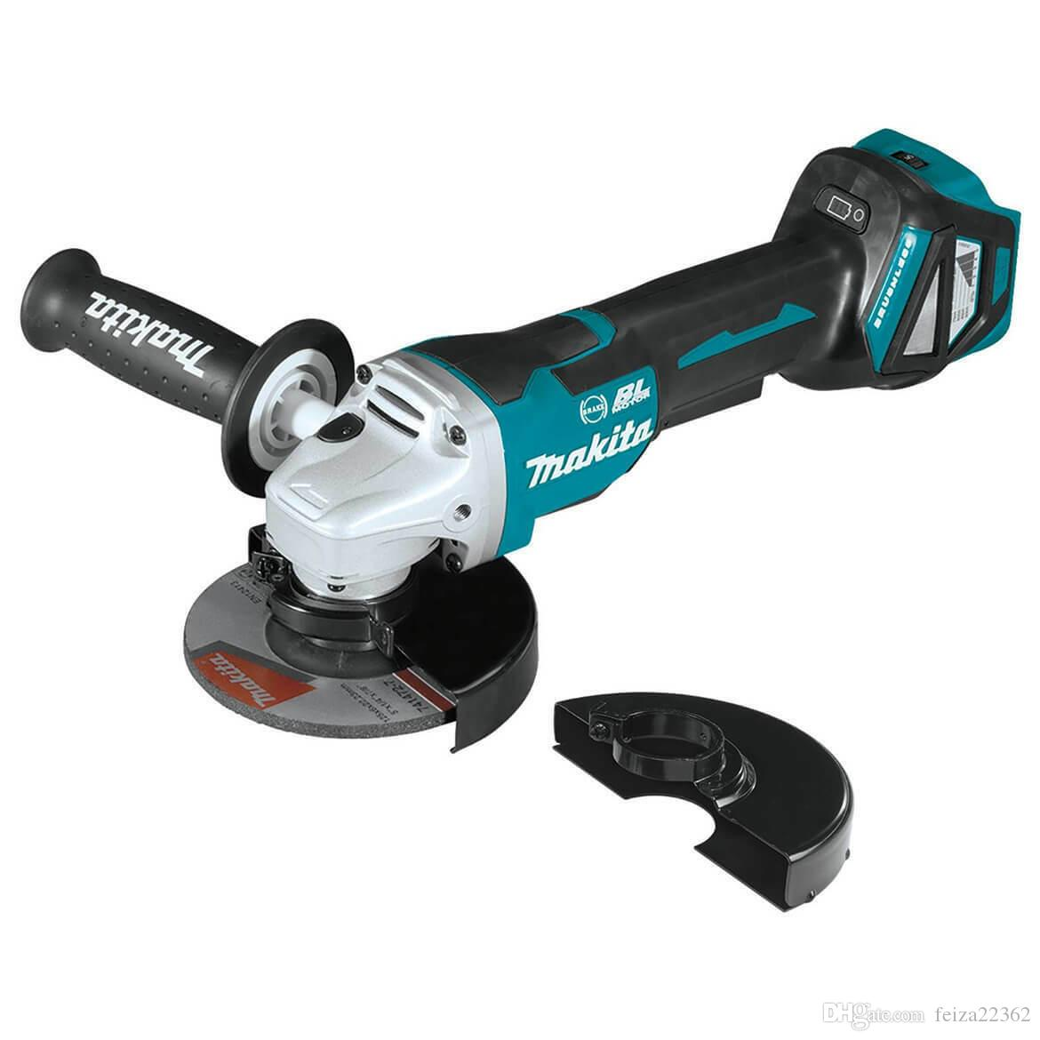 Makita XAG20Z 18-Volt Brake Paddle Switch Cut-Off/Angle Grinder - Bare Tool