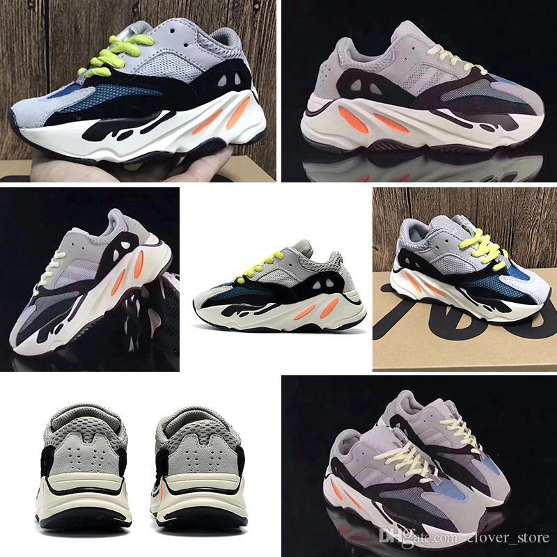 Adidas yeezy boot 700 de deporte para bebés Kanye West 700 Boost Zapatillas deportivas para niños Zapatillas Wave Runner BOOST 700 Zapatillas