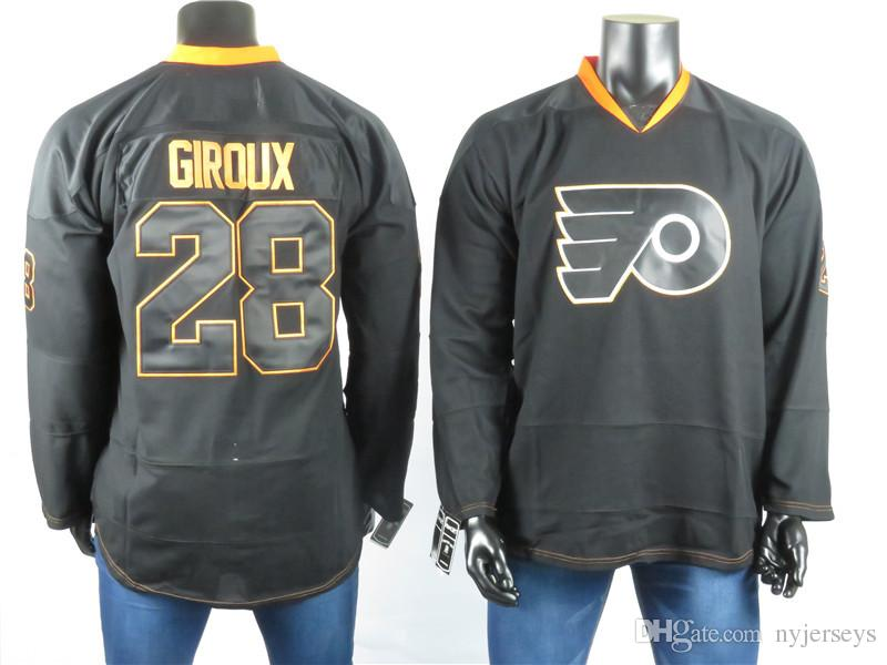 premium selection b7527 ba474 Philadelphia Flyers Jerseys The Best Player Of 28 Claude Giroux Jersey High  Quality Embroidered Men s Gray ice Hockey Jerseys Stitched