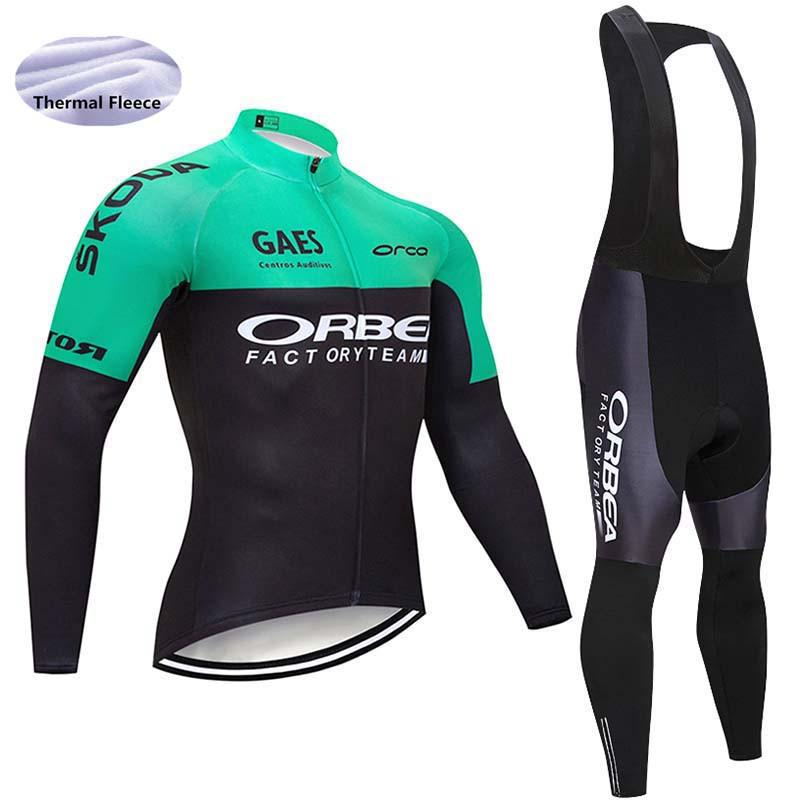 New Men Cycling Jersey 2018 Pro Team Bike Winter Thermal Fleece Long Sleeve  Set Ropa Ciclismo Bicycle Triathlon Cycling Clothing Bike T Shirt Cycle  Jacket ... 0116e00dd