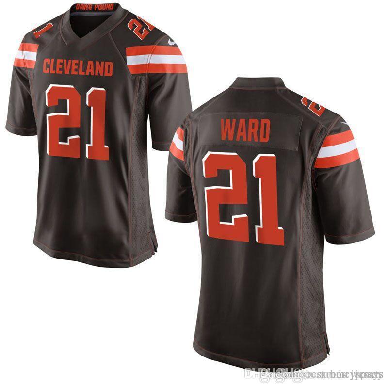 Browns 21 Denzel Ward Jersey Cleveland Browns 6 Baker Mayfield 80 ... 99665013f