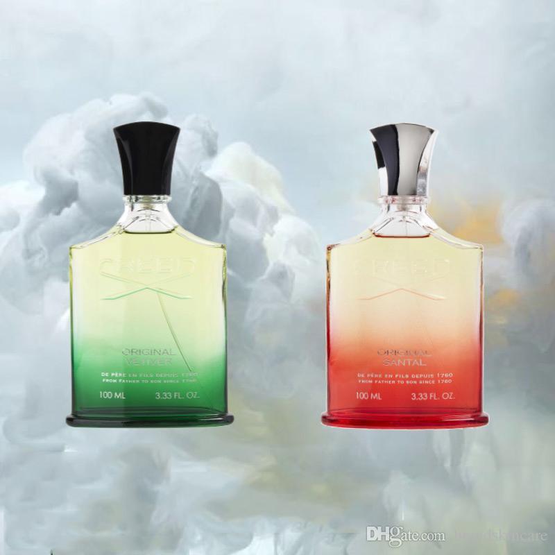 Recentemente oggetto Creed Santal unisex fragranza naturale gli uomini donne durata nel tempo del profumo odore 100ml trasporto libero
