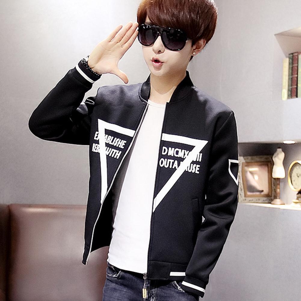 01fc5a2e68e8 Мужское пальто корейский многоразовые верхняя одежда молодежные тонкие  куртки ...