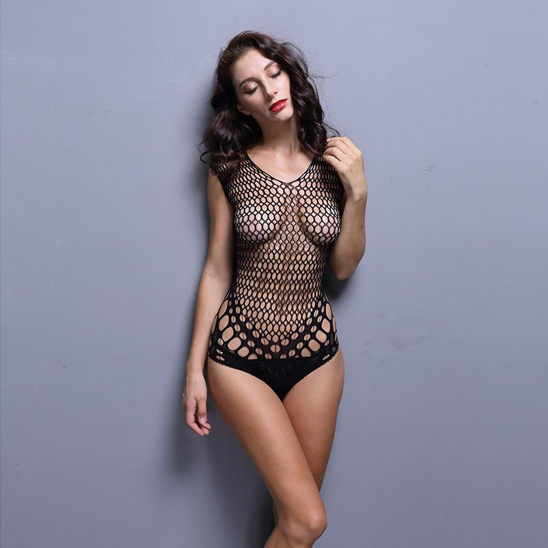 af0595169f9 Women s Underwear 2019 New Sexy Black Mesh Corsets Tight Sling ...