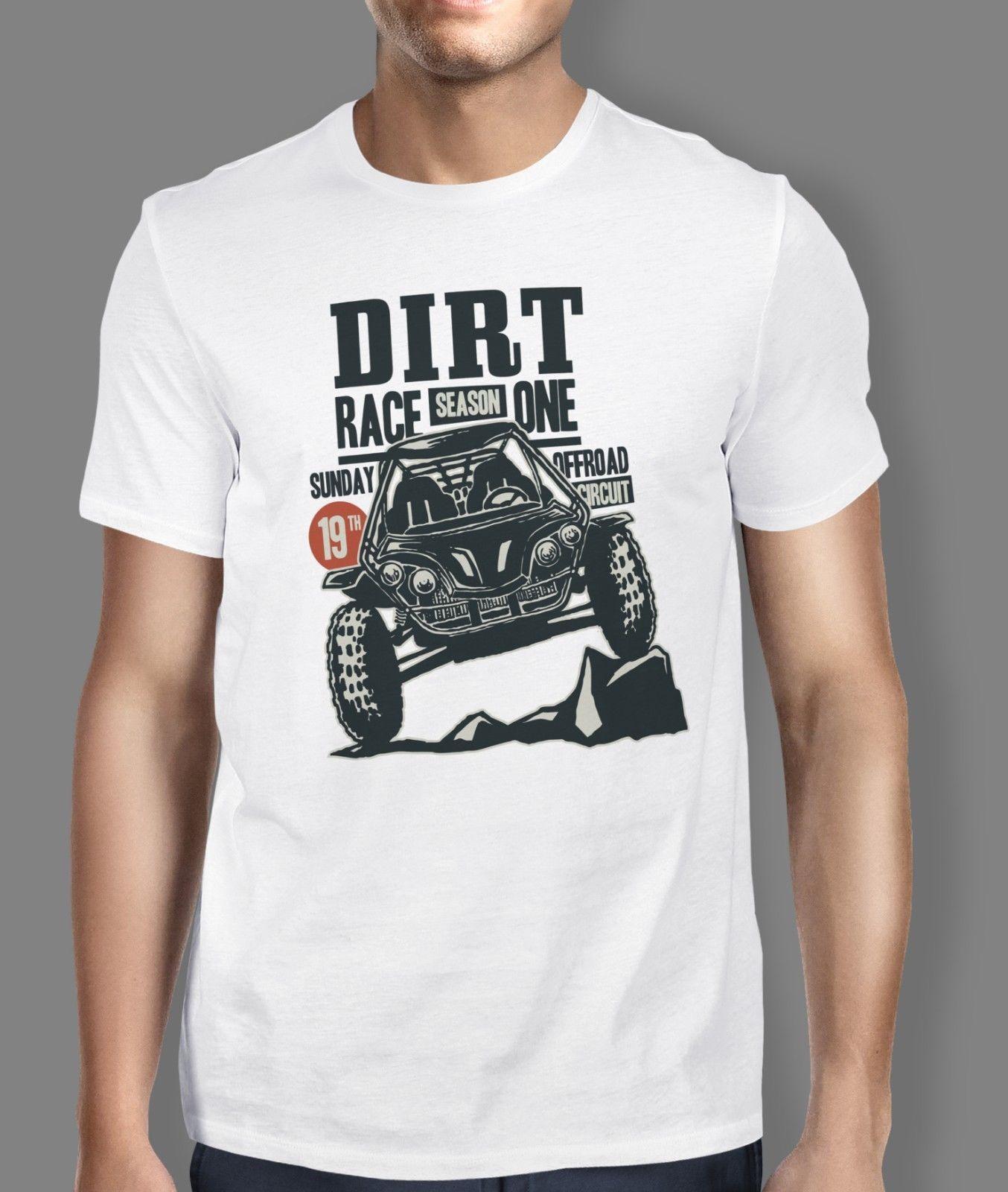 Dirt Buggy Race Offroad Men Tshirt Ideal Gift