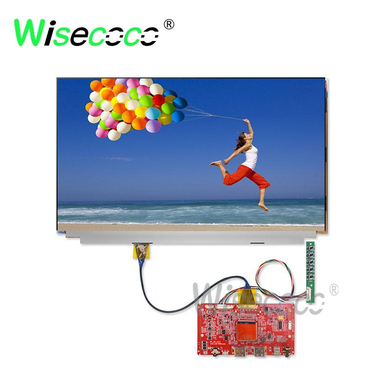 15.6 inch LQ156D1JX02 3840*2160 UHD no backlight with micro usb mini dp HDMI earphone output driver board for laptop pc printer