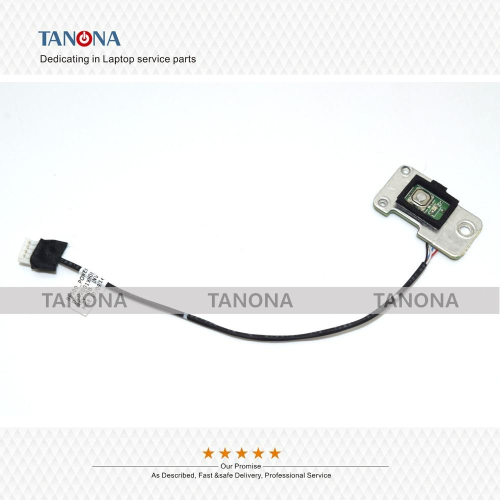 New/Original DC02001XH00 for Lenovo ThinkPad P50 P51 Power Wire Switch  Board w/ Cable power button cable
