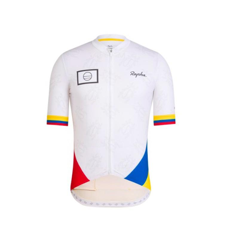 b2a360cbef6 2019 Colombia Cycling Jersey  Summer Top Tailoring Breathable Short Sleeved  Bike Clothing  Racing Mountain Mtb Bicycle Jersey Cycle Clothing Sale Mens  Bike ...