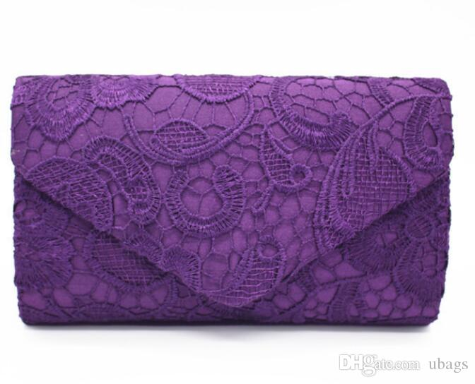 Woman Evening Bag Women Lace Party Clutch Crystal Day Wallet Wedding Purse Party Banquet