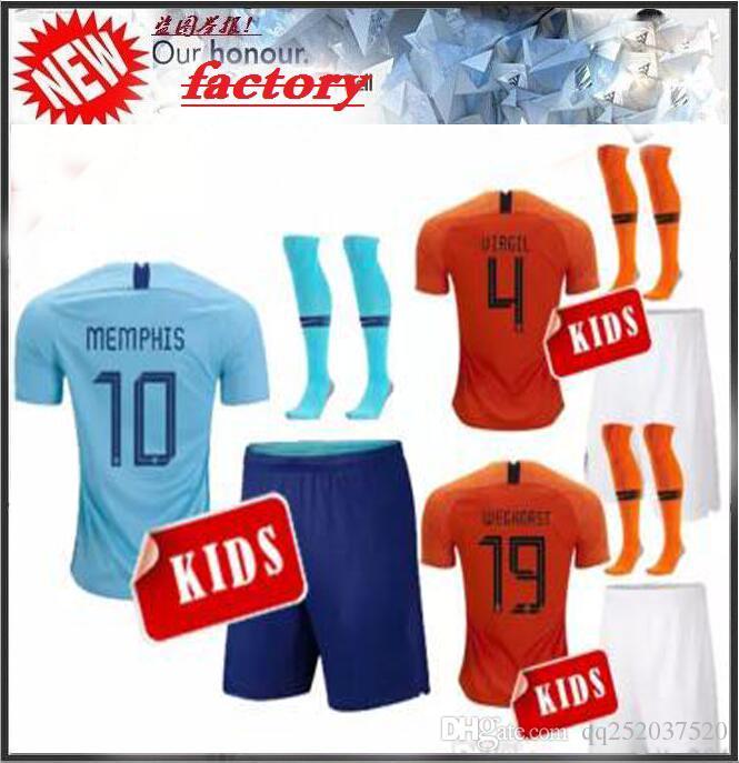 1bf20a05e ... where can i buy 2018 2018 netherlands soccer jerseys home holland  memphis de jong 7 wijnaldum