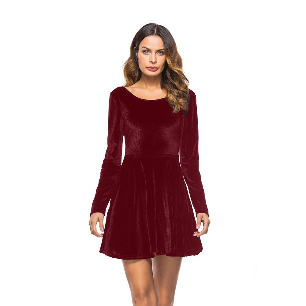 6f9538d24e2a Good Quality 2018 New Spring Summer Style Dress Sexy Women Dress Long  Sleeve Backless Slim Pencil Party Dresses Skater Mini Dress Dresses Women  Cocktail ...