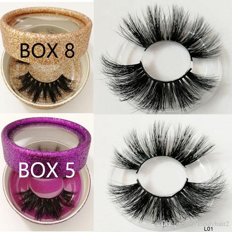 25MM long hair Eyelashes 100% 3d Mink eyelashes 3D Mink 25mm long lashes wholesale product Private label custom boxes for wholesale order