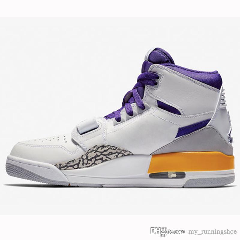 f31c716c4e1132 2019 Legacy 312 Basketball Shoes Knicks Lakers Pistons Mens Athletic Sport  Sneakers Jump Man Fashion TrainersTop Quality From My runningshoe