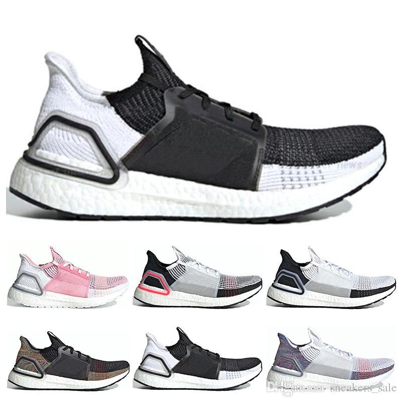 Diseñador 19 Aididas Ultra Boost 5.0 Hombres Mujeres Zapatos para correr Láser Rojo Pixel oscuro Núcleo Negro Zapatillas de deporte Oreo Sport