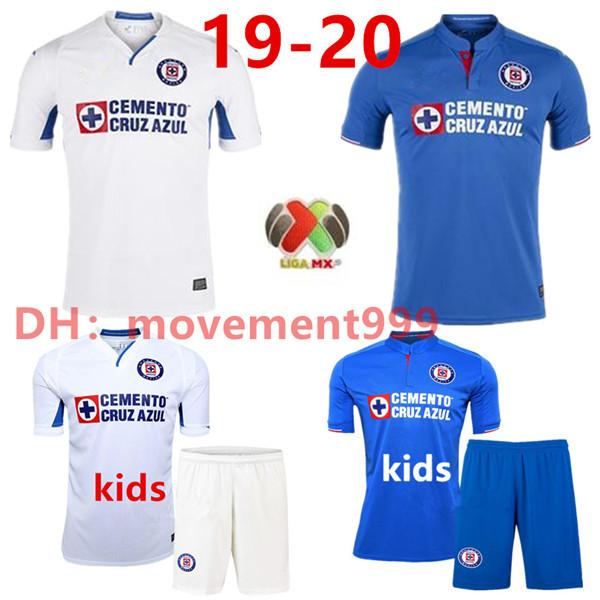 fa6c3924337 2019 New 2019 Mexico Club Cruz Azul Soccer Jerseys 19 20 CARAGLIO ...