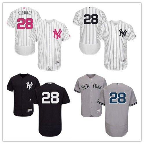 2018 New York Yankees Jerseys  28 Joe Girardi Jerseys Men WOMEN ... 294c7c3049b