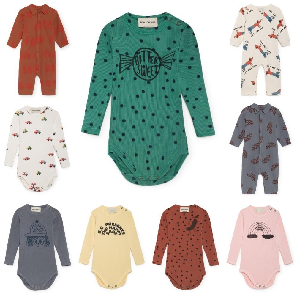 1d545260d0f7d Newborn Baby Rompers 2019 Bobo Choses Autumn Cartoon Infant Romper Baby  Clothes Boys Girls Jumpsuits Cotton Clothing Roupas Bebe
