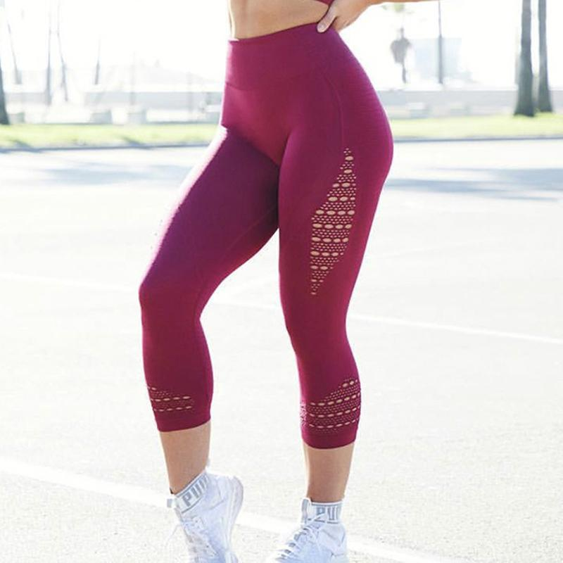 cf2be7a2fecbb 2019 Women Leggings Push Up Fitness Leggins High Waist Legging For Women  Casual Workout Legging Girl Sexy Punk Legins Jeggings From Jincaile08, ...