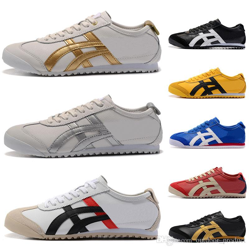 the best attitude a298e 75e2c ASICES Original Onitsuka Tiger Running Shoes Men Women white Athletic  Outdoor Boots Brand Sports Mens Trainers Sneaker Designer Shoes 36-44