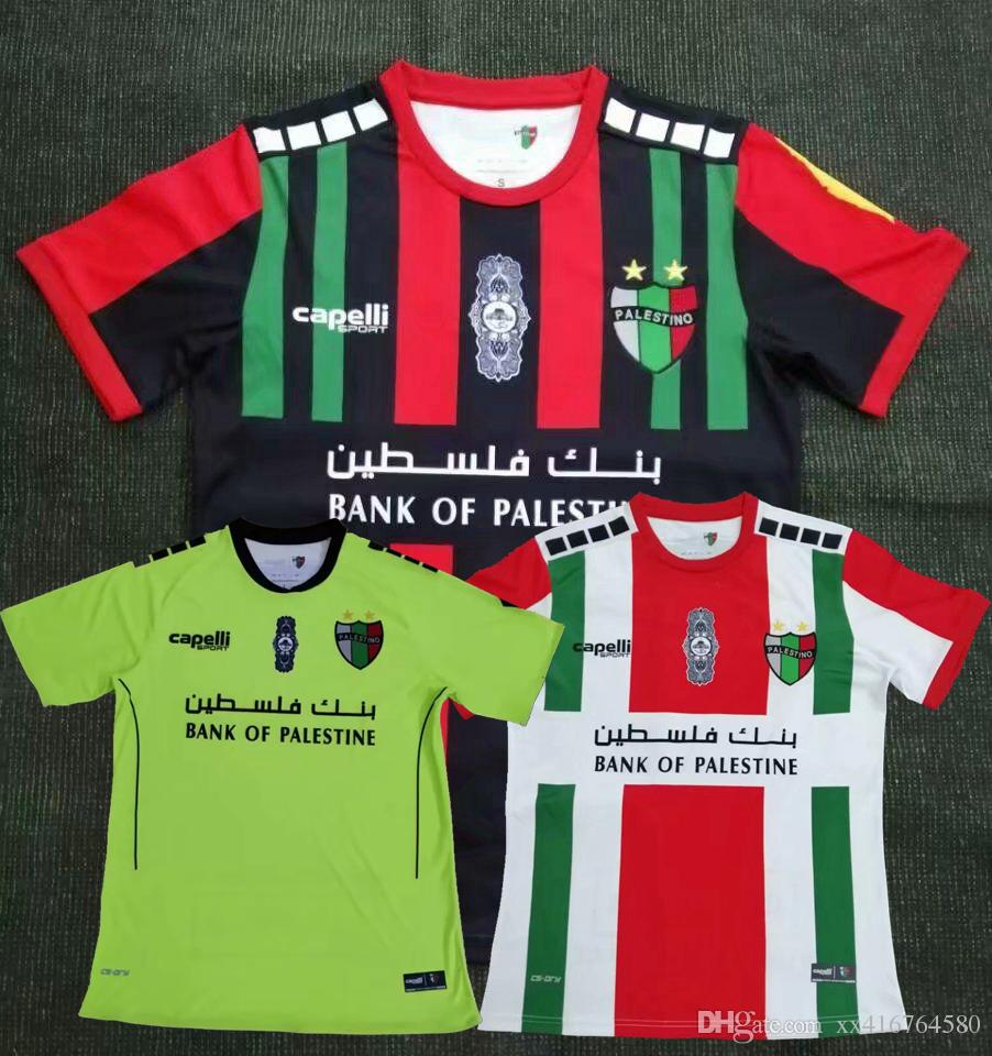 fc4ca024487 New 2019 2020 Club Deportivo Palestino Soccer Jersey 18 19 20 Palestino  Home Away 3rd Football Shirts S 2XL Canada 2019 From Xx416764580