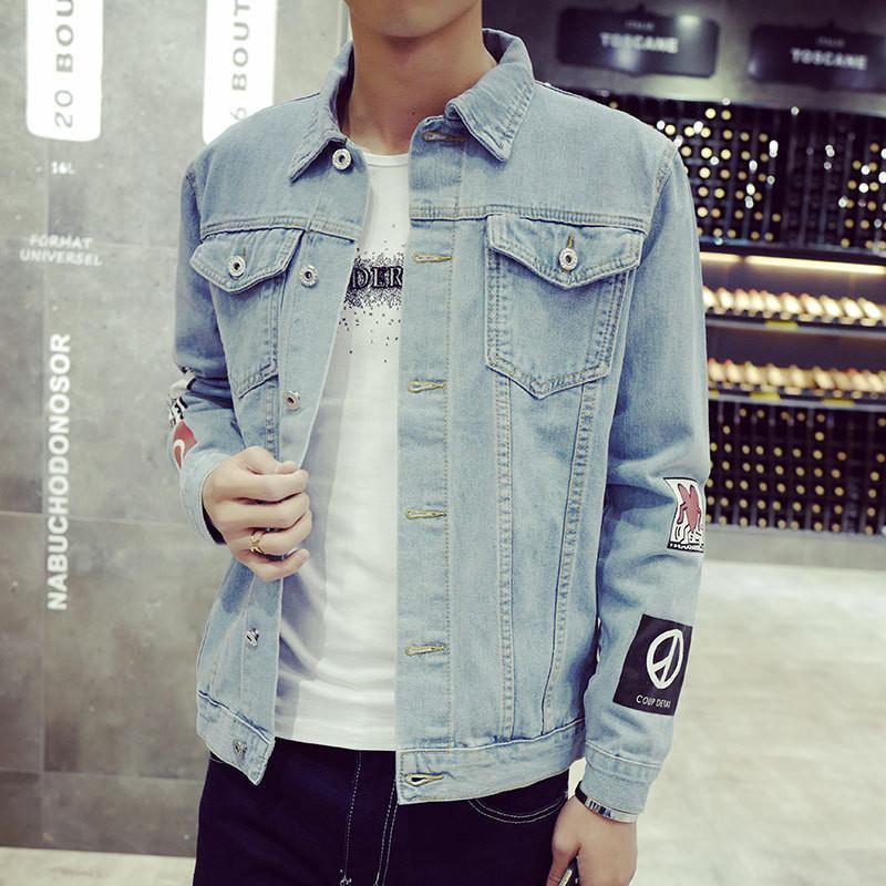 Designer Jean Jacket 2018 Mens Denim Jacket High Quality Fashion