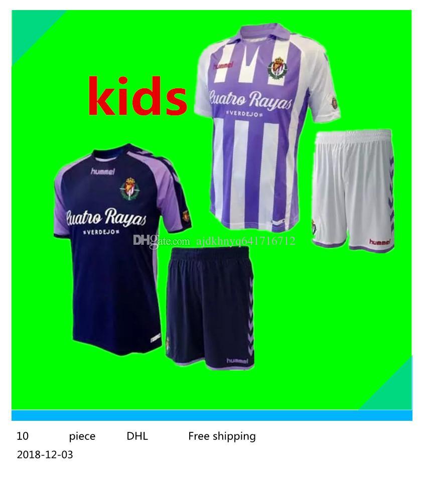 Compre Niño 2018 2019 Real Valladolid Niños Fútbol Jersey 18 19 Fútbol  Hogar Lejos Muchachos Camisetas A  17.37 Del Ajdkhnyq641716712  d74c17f13f9cb