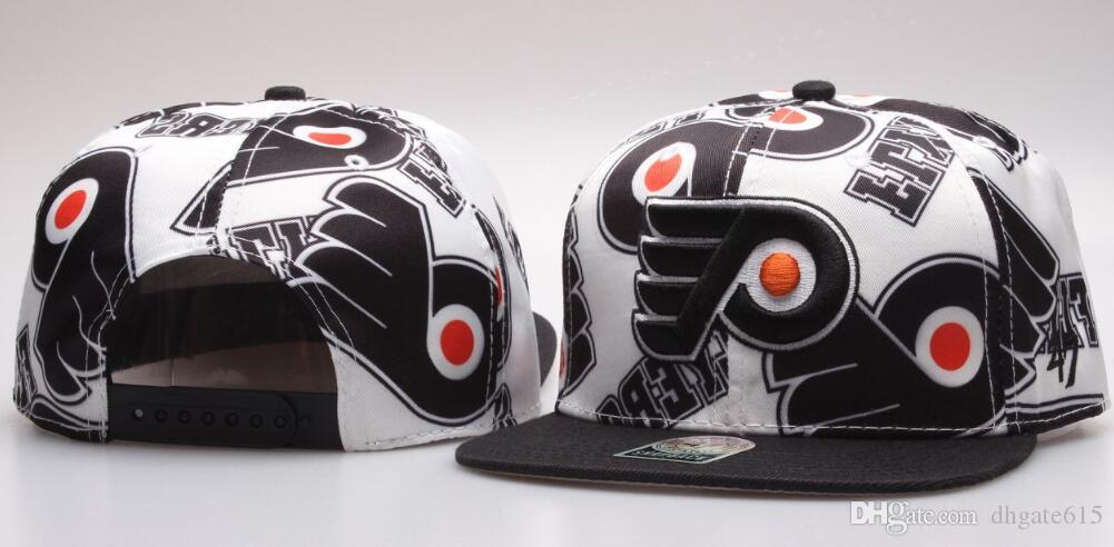 3a88ed979b755 2019 New Caps Flyers Cap Hockey Snapback Philadelphia Hats Women Men Team  Hats Mix Match Order All Caps Top Quality Hat 03 From Dhgate615