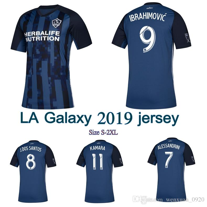 2019 2019 LA Galaxy Soccer Jersey 19 20 Los Angeles Away Jersey Ibrahimovic  Alessandrini From Wenxuan 0920 1b039bf6a