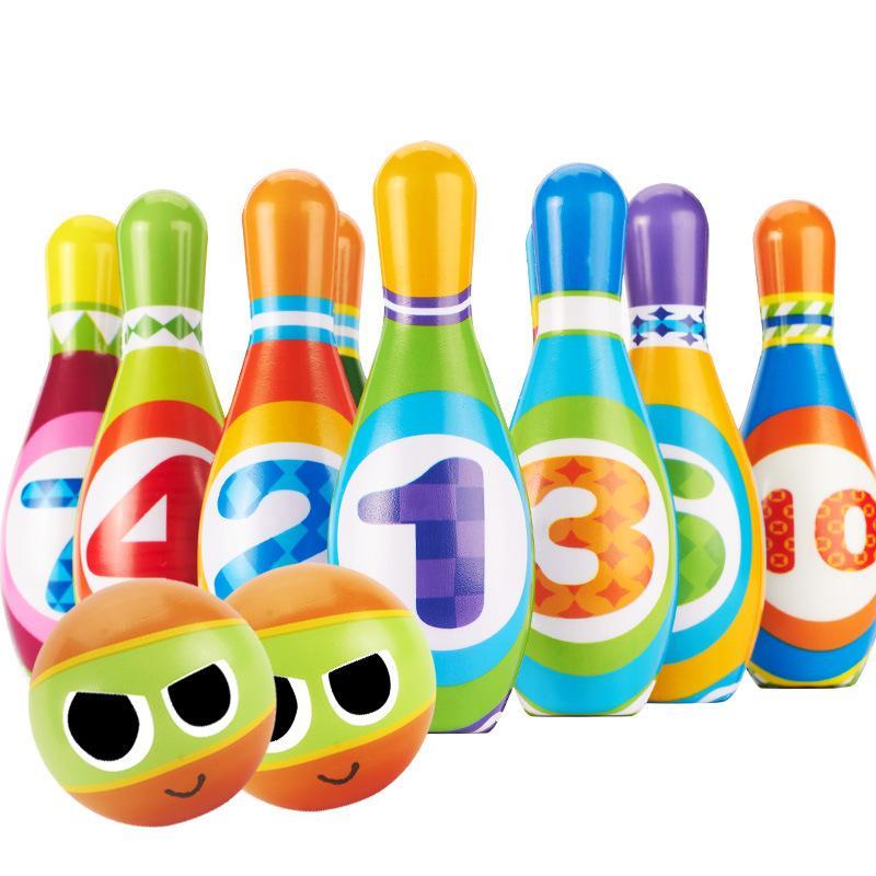 d6655e5f3c168 Großhandel Bunte Bowling Spielset
