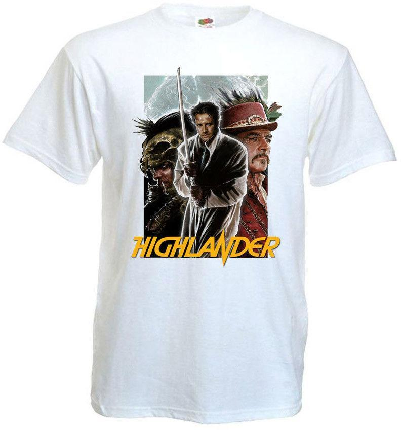 9b13335a80bd2 Highlander V10 T Shirt White Poster All Sizes S 3XL Printed Men T Shirt  Clothes Top Tee Hipster Tee Shirt Homme T Shirt Shirts Shirts And Tshirts  From Jie55 ...