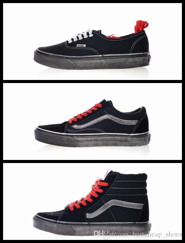 1e601b5286f1d1 2019 New Vans Unisex Authentic CA Overwashed Old Skool Slip On Men Casual  Shoes Skate Canvas Sports Mens Running Shoes Vans Sneakers Trainers From ...