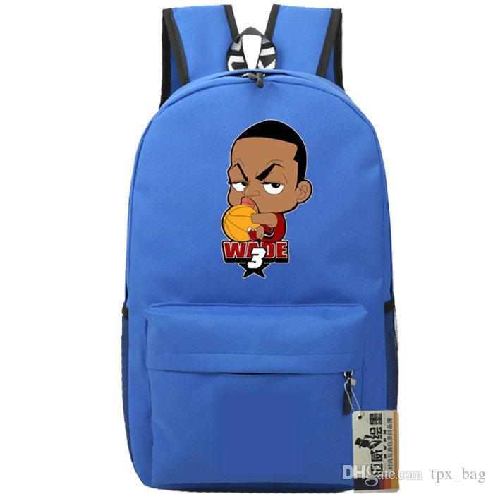 The Flash Backpack Dwyane Wade Daypack Basketball Star Schoolbag Cartoon  Rucksack Sport School Bag Outdoor Day Pack Best Laptop Backpack Wheeled  Backpacks ... aaeaafb617d24