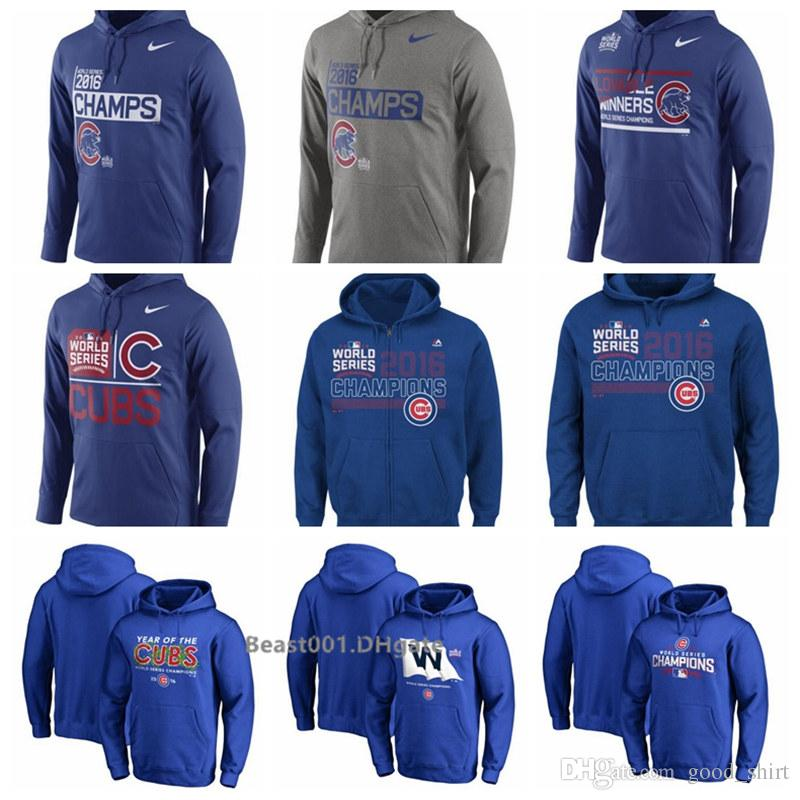 lowest price fdf21 004af Chicago Sweatshirt Cubs World Series Champions Celebration Performance  Hoodie