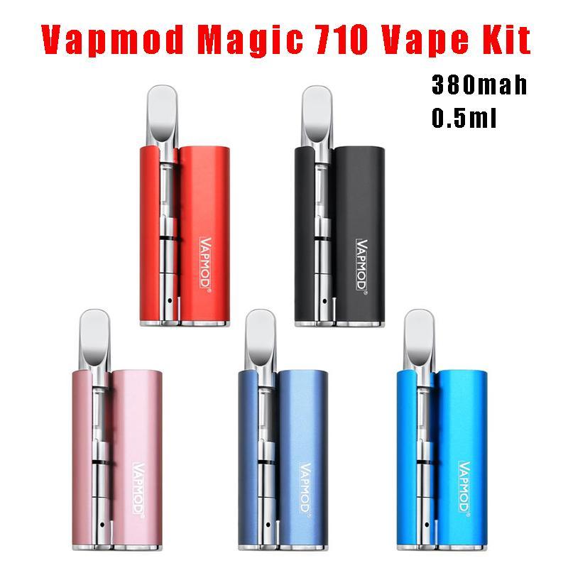 Vapmod Magic 710 Vape Kit 380mah Magic 710 Preheat VV Battery with 0 5ml  Xtank PRO 510 Ceramic Coil Cartridge Palm Battery