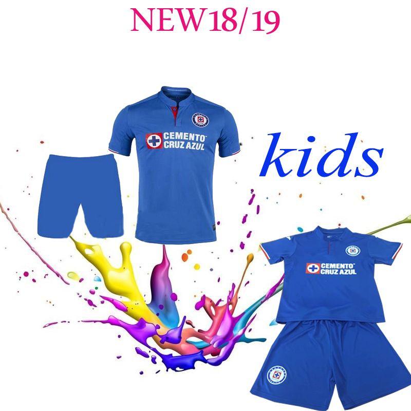 37aa71ca3 2019 2019 Top Quality Mexico Club Kids JOMA CRUZ AZUL Soccer Jersey Liga MX  CDSC CAUTE CARAGLIO MONTOYA MENDEZ Cruz Azul 2020 Football Shirt From  Zhiqiang88 ...