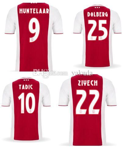 75e243c6a Customized TADIc 10 HUNTELAAR 9 DOLBERG 25 ZIYECH 22 Thai Quality ...