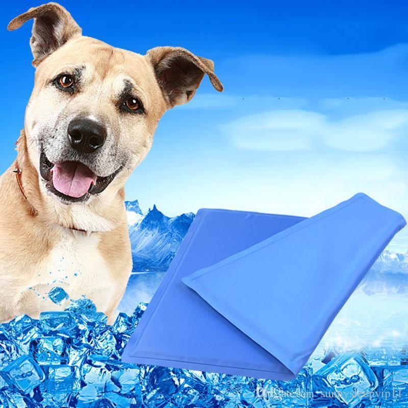 bd1ae1f079ef Compre Mascota Perro Estera Del Coche Cool Ice Pad Teddy Colchón Estera  Pequeños Perros Grandes Cojín De Verano Mantener La Cama Fresca Pet Dog Dog  Pad Pad ...