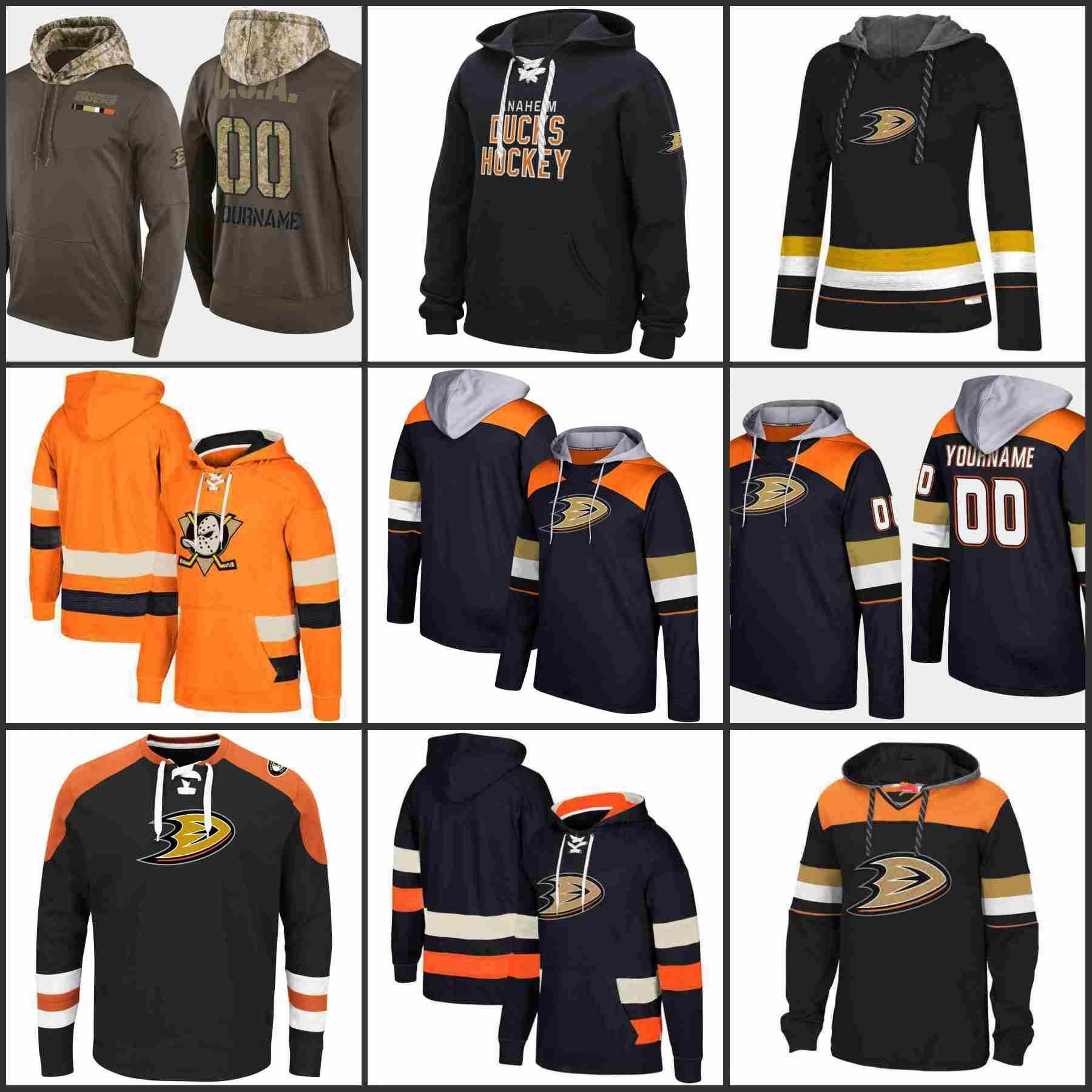 Anaheim Ducks Hoodies Teemu Selanne Paul Kariya Corey Perry Ryan Getzlaf Hockey  Jersey Sweatshirt Stitched Hockey Jerseys Online Online with  48.53 Piece  on ... f277b687e