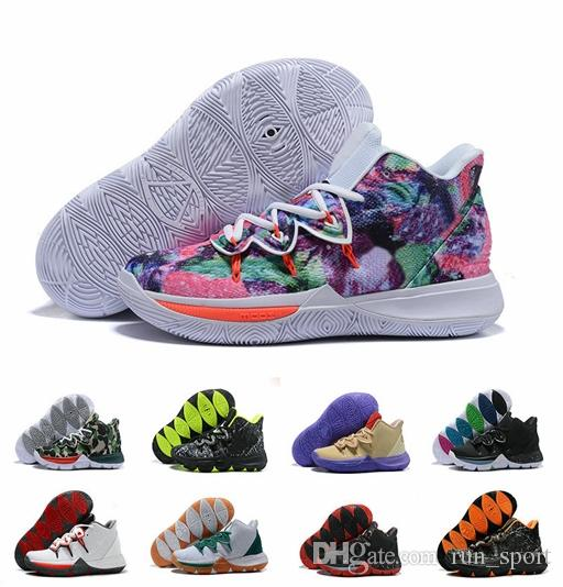 913f4c57021c With Box Basketball Shoes 5s Neon Blends Concepts Ikhet Taco Black Magic  CNY 2019 Chaussures Irving 5 Mens Sneakers Zapatillas Us 7 12 Men  Basketball Shoes ...