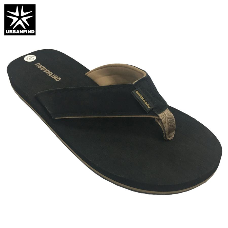 6e56b8f35032 URBANFIND Man Casual Summer Shoes Beach Slippers Black Brown Size 41 46  Indoor   Outside Slippers Men Flip Flops White Shoes Womens Sandals From  Fivestage