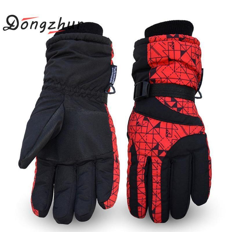 Mens Ski Gloves Snowboard Gloves Motorcycle Riding Winter Warm Ski ... 63378850a