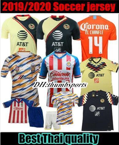 168883a73 2019 2019 Club America LONG SLEEVE Soccer Jersey Home Away Third Orange 19  20 LIGA MX Mateus R .Martínez CHIVAS Guadalajara Football Shirts From  Thumbsports ...