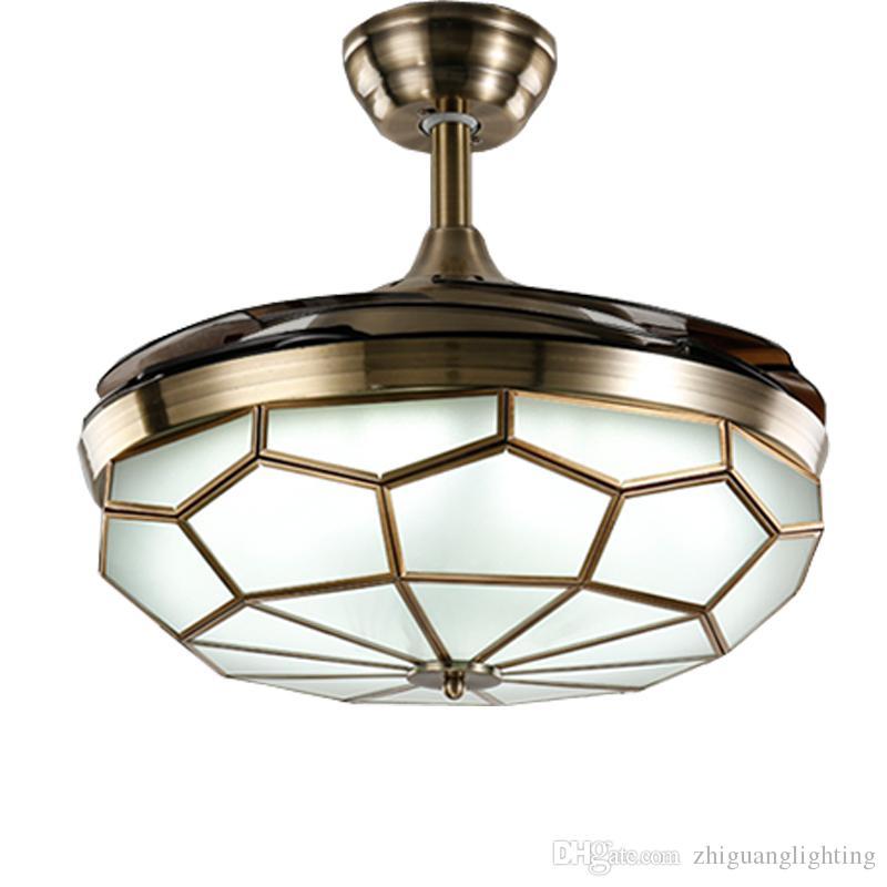 2019 42inch ceiling fan chandeliers 36w dimming lights remote rh dhgate com