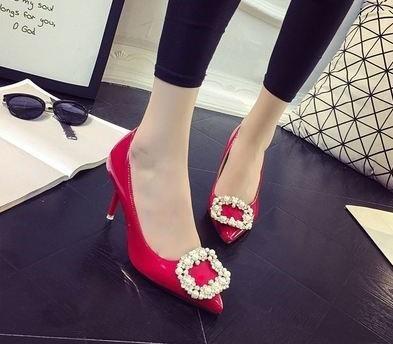 7506c32900c9 Designer Kleid Schuhe Mode Naked Shallow Tone Sexy Mode Frauen Büro High  Heels Elegante Damen Weibliche Hochzeit Spitzen High Heels