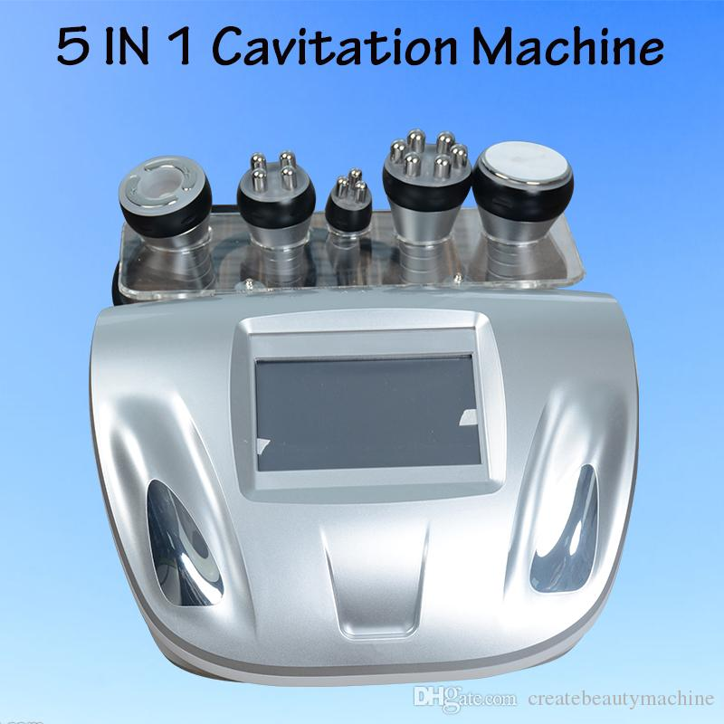 Cavitation slimming beauty equipment cavitation radio frequency slimming  ultrasonic infrared slimming device for cavitation fat reduction