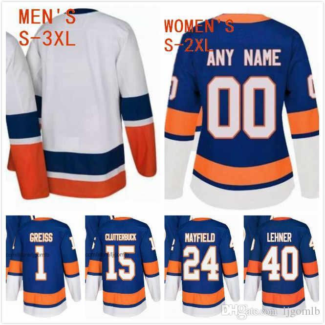 online store 27175 9152a Scott Mayfield Jersey 24 Cal Clutterbuck Jersey 15 Thomas Greiss 1 Robin  Lehner 40 Ice Hockey Jerseys 2019 New York Islanders Stitched S-3XL