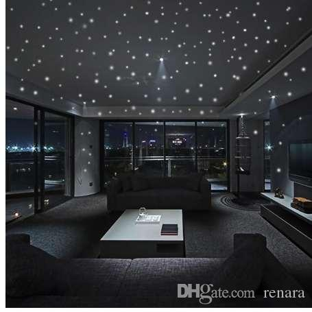 hot sales glow in the dark star wall stickers round dot luminous rh dhgate com